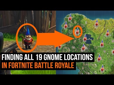 All 19 Gnome Locations In Fortnite Season 3 Challenges Youtube
