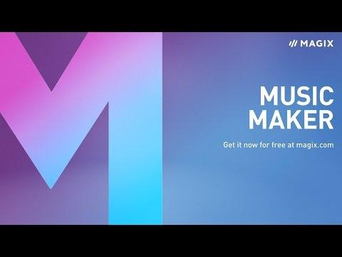 MAGIX Music Maker – The free full version