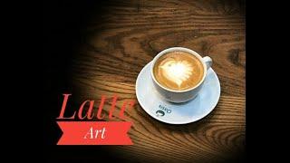 Latte Art Kuş Çizimi