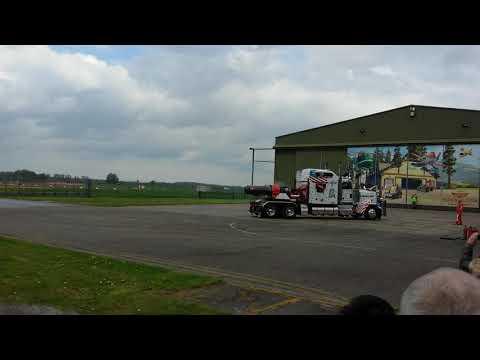 Unveiling restored Dutch Navy Grumman Tracker 151(6)