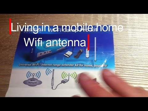 Living In A Mobile Home 17, How To Install A Wifi Antenna On Youre Rv.