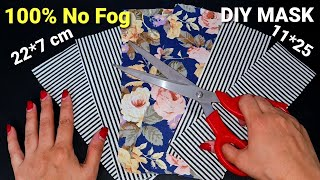New Style 100 No Fog On Glasses Very Cute Face Mask Tutorial Diy Breathable Face Mask