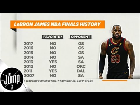 Does LeBron James being underdog in 7 of 9 NBA Finals trips hurt his legacy? | The Jump | ESPN