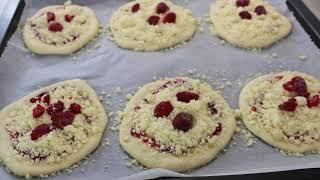 """Мини пироги с кондитерской крошкой """"Штройзельталер"""" (Streuseltaler)"""