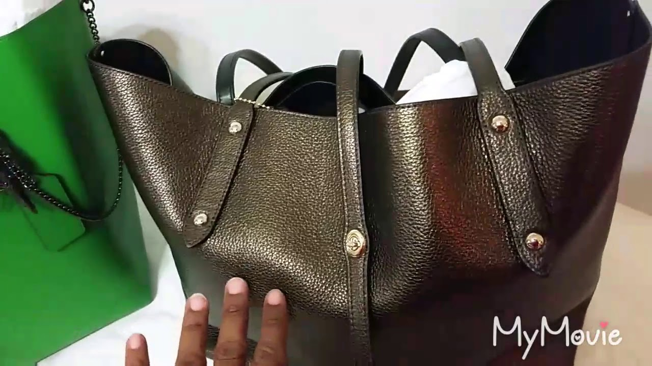 cc393a4851ac Coach   Market Tote (Review and Comparison ) - YouTube