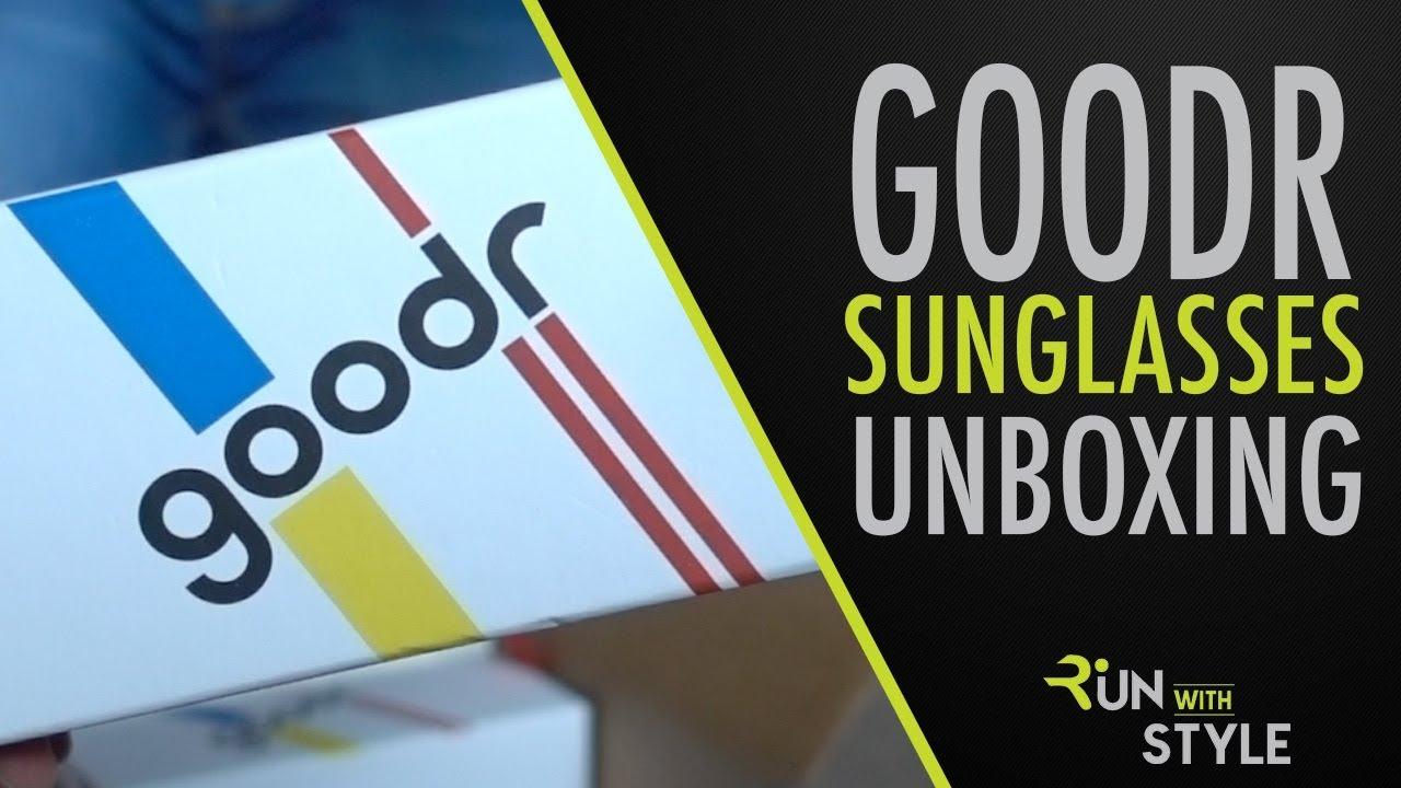 1766290b5f Goodr Running Sunglasses Unboxing - YouTube
