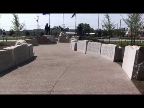 Visit  the Veteran's Memorial Chilton