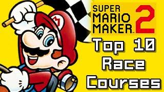 Super Mario Maker 2 Top 10 RACE Courses (Switch)