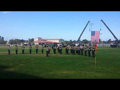Blue Diamond Marching Band 1st Marine Division