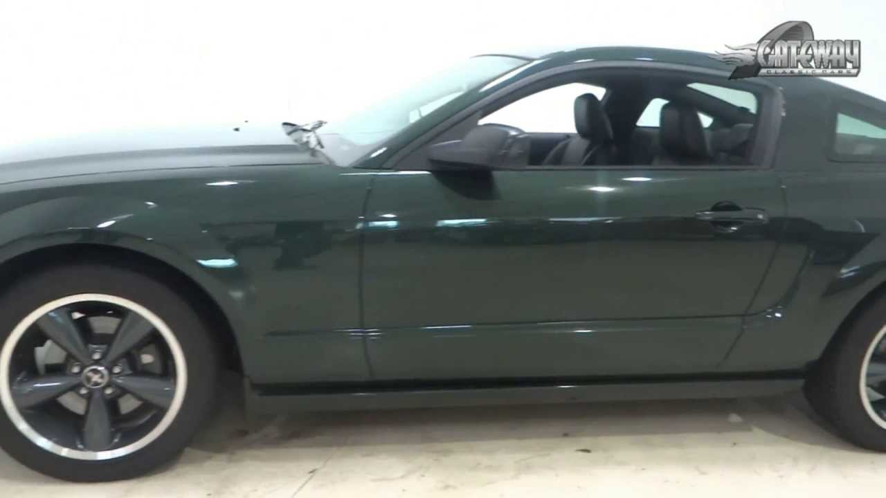 Mustang Bullitt For Sale >> 2008 Ford Mustang Bullitt For Sale Youtube