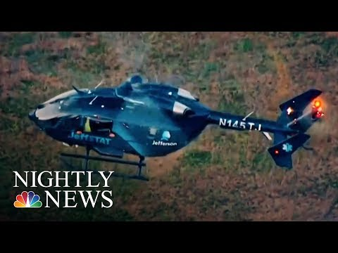 Life-Saving Air Ambulances Hit Patients With Hefty Medical Bills | NBC Nightly News