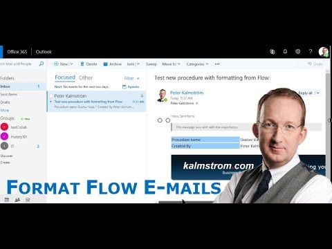 HTML In Flow Auto-Emails