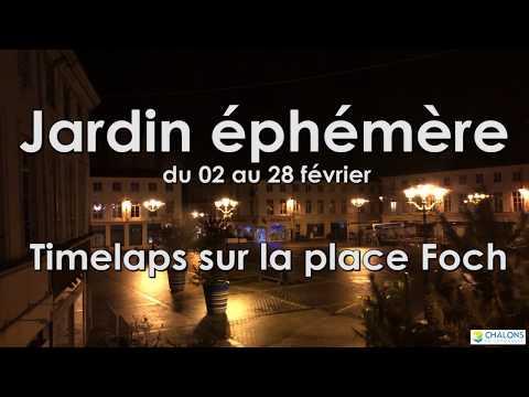 Web reportage -  Jardin éphémère