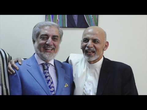Ashraf Ghani, Abdullah Abdullah on National ID
