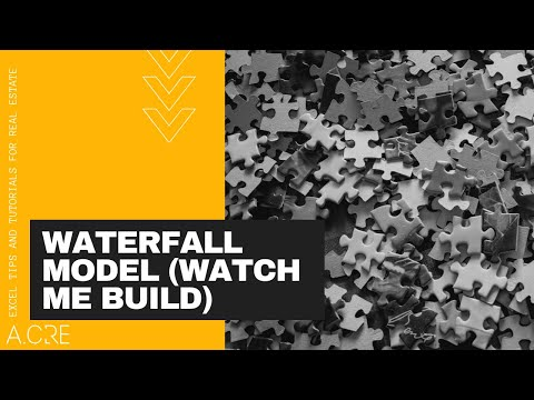 Watch Me Build a Basic Real Estate Equity Waterfall Model with IRR Hurdles