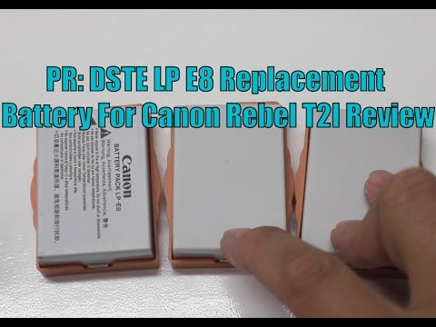 Canon LP-E8 Battery - How to spot the FAKE !!! - YouTube