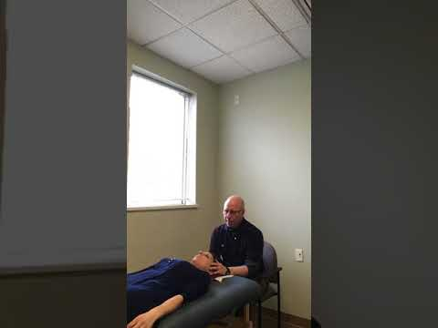 Cranial Sacral Therapy Session with Dr. Edward Feldman