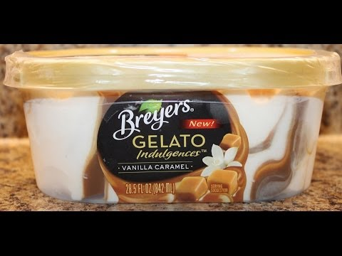 Breyers: Vanilla Caramel Gelato Review