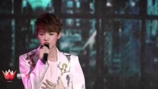fancam 120401 exo showcase solo baby don t cry what is love two moons
