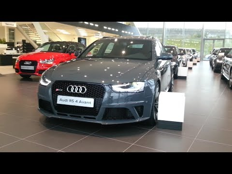 Audi RS4 2015 In depth review Interior Exterior