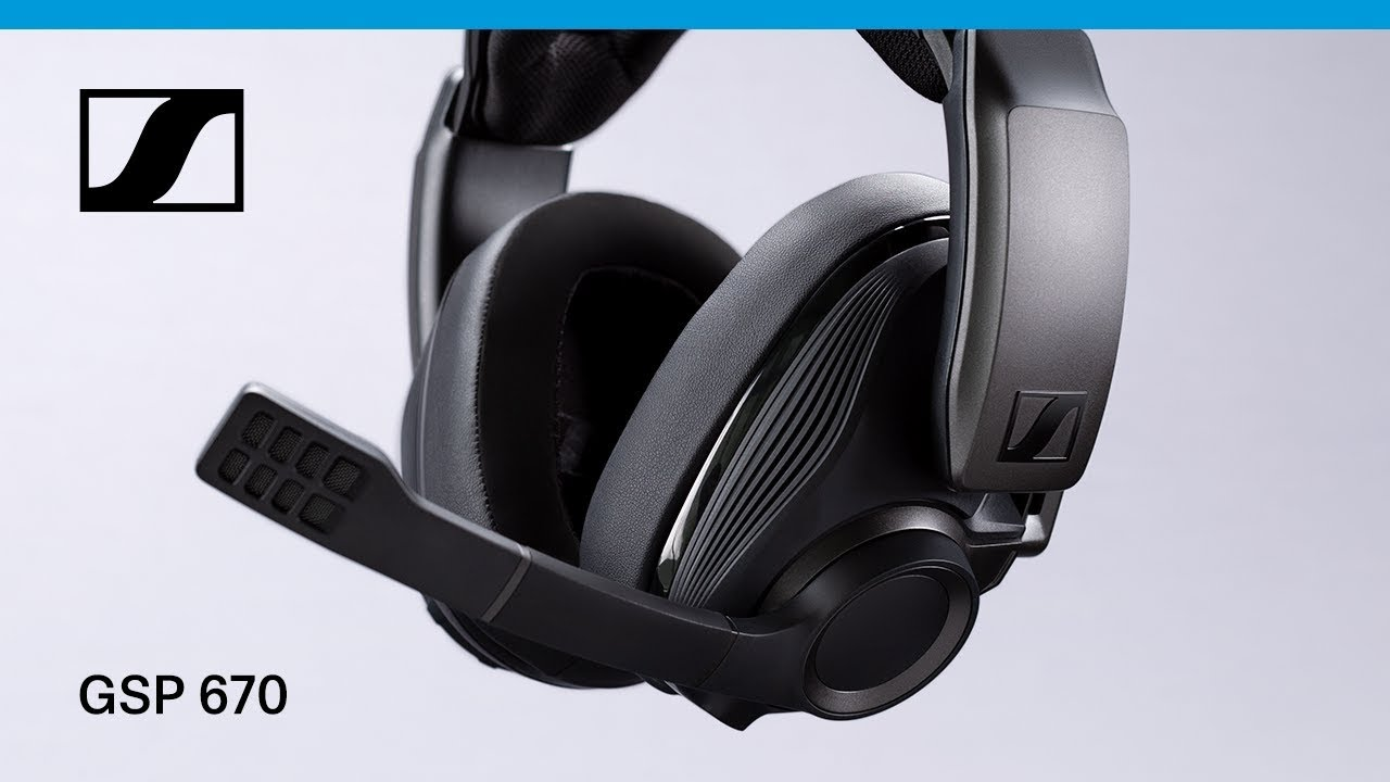 5aef7fd0979 GSP 670 Wireless Gaming Headset by Sennheiser. >
