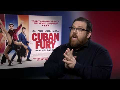 Nick Frost Interview - Cuban Fury