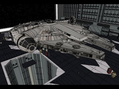 how to make a millenium falcon