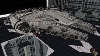 Millennium Falcon Walkthrough