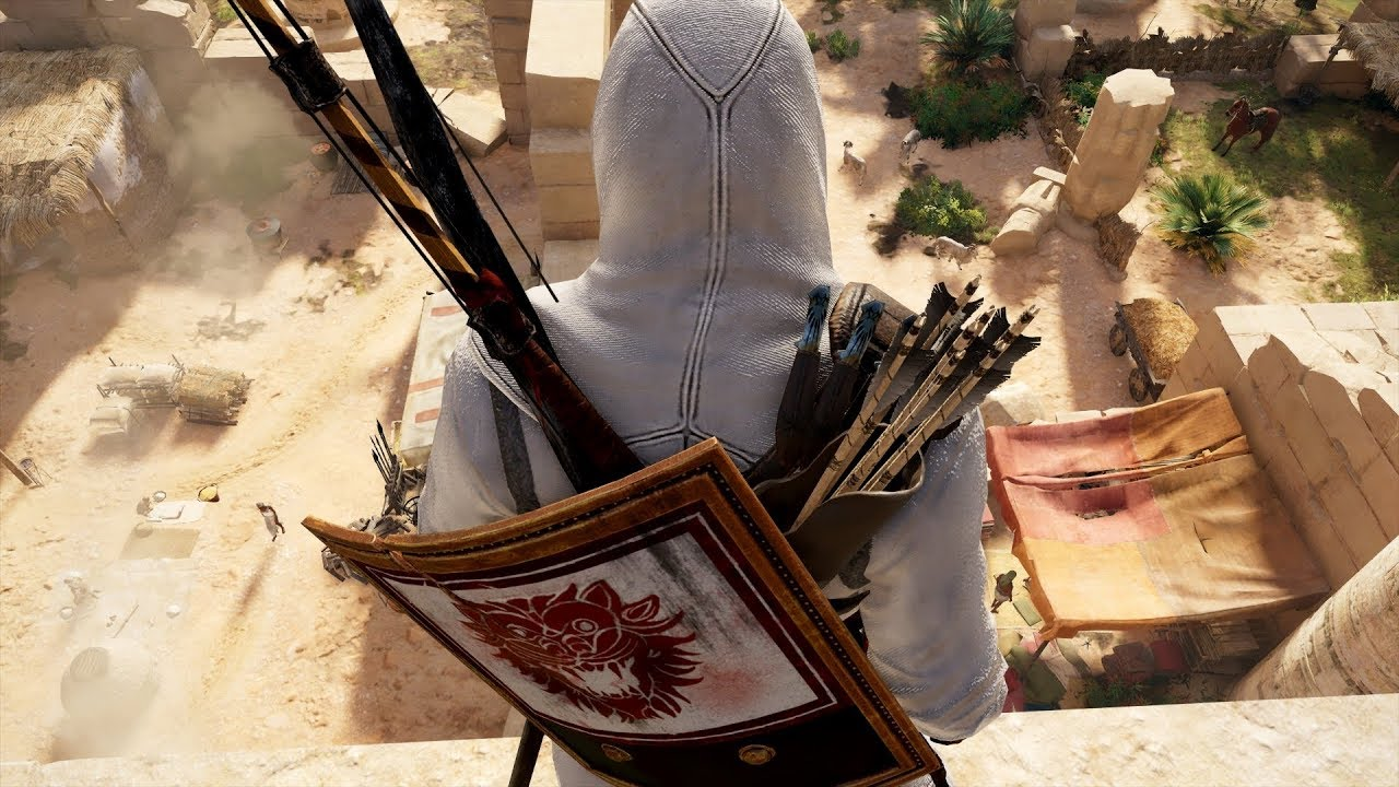 Assassin's Creed Origins: Stealth Bow Gameplay