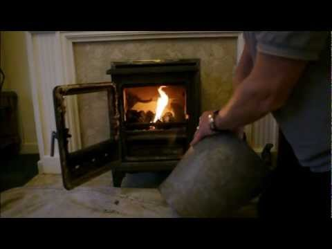 How to light a fire for multifuel appliance