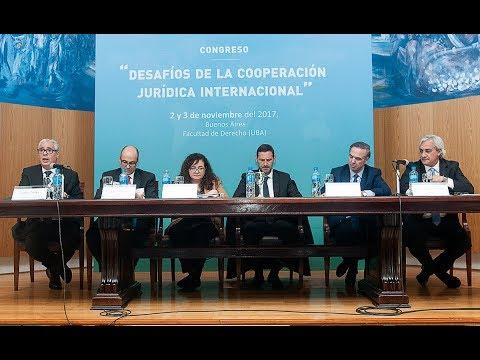 Panel: Crimen organizado - Congreso Desafíos de la Cooperación Jurídica Internacional