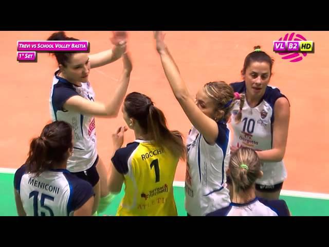 Trevi vs Bastia - 1° Set