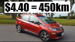 2019 Chevrolet Bolt - Battery Range Review + Charging Costs