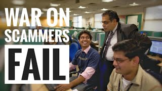 HERE'S WHY THE INDIAN POLICE DO NOTHING! Scam Call Centres