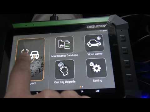 OBDSTAR X300 DP/Key Master DP do OBDII engine diagnosis for 2015 Hyundai Verna.