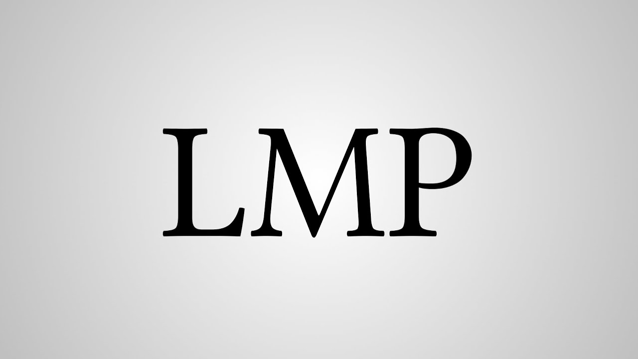 What is lmp mean