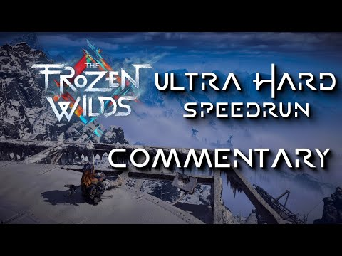 The Frozen Wilds NG+ Ultra Hard Speedrun Commentary [CRDQ Submission]