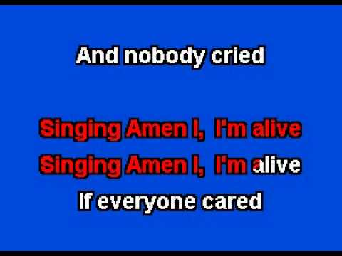 If Everyone Cared Nickleback Karaoke