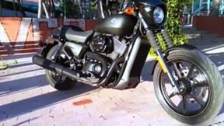 Harley - Davidson : Street 750, premières approches, premier son !