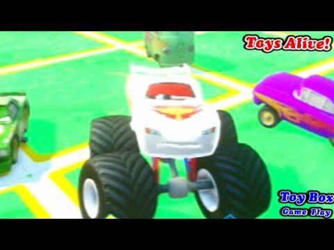 Disney Infinity Game Play Toy Box Cars Alive 2 Youtube