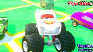 Disney Infinity Game Play - Toy Box Cars Alive #2