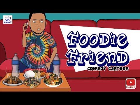 Foodie Friend, Comedy Cartoon