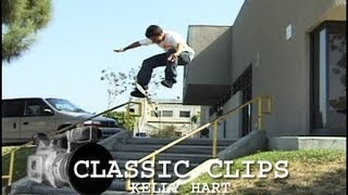 Kelly Hart Skateboarding Classic Clips #79 2002