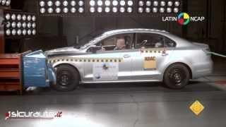 Crash test Latin NCAP | Volkswagen Jetta - 2 airbag