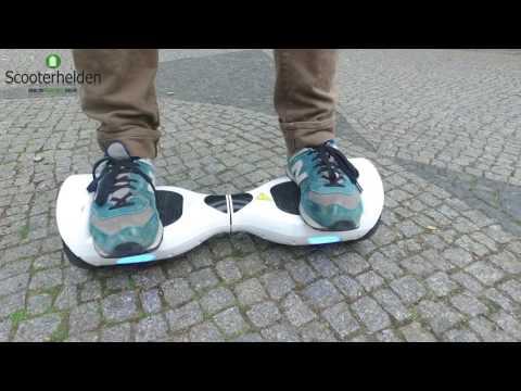 Hoverboard Fahren Lernen, IO HAWK Lernvideo, Balance Board *REVIEW&Tutorial* (Deu,Ger)