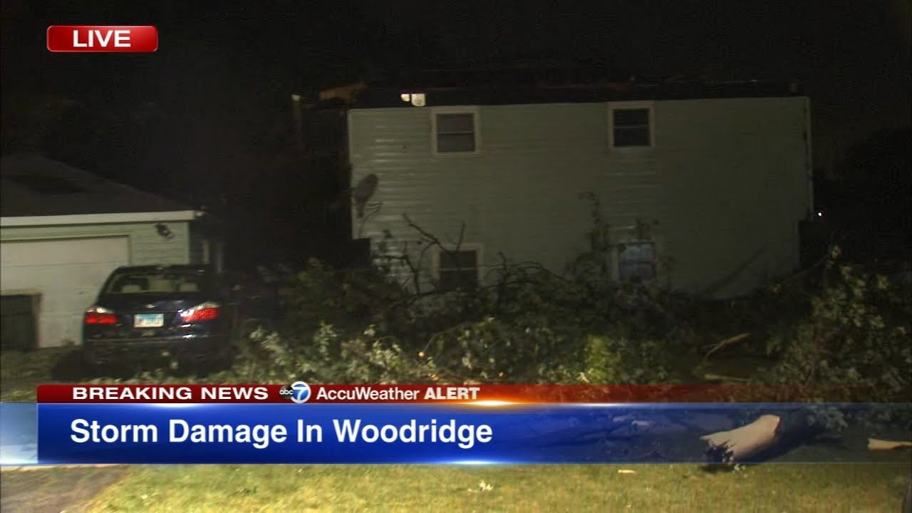 Chicago weather: Tornado reported in DuPage County, with ...