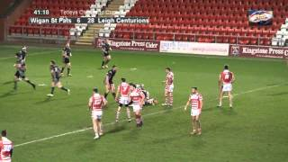 Wigan St Pats v Leigh Centurions - Tries