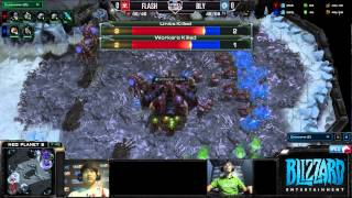 Flash vs Bly - Game 1 - Round of 32 - MLG Dallas 2013