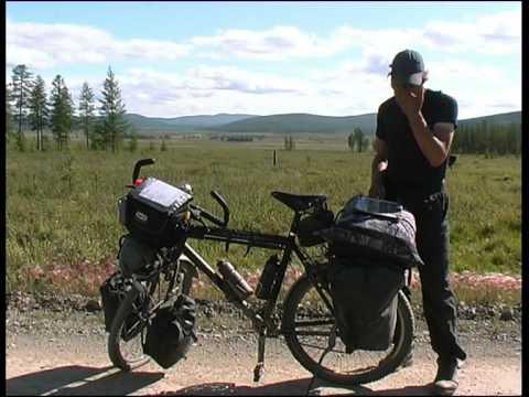 Bicycle Travel Russia Siberia total 2005