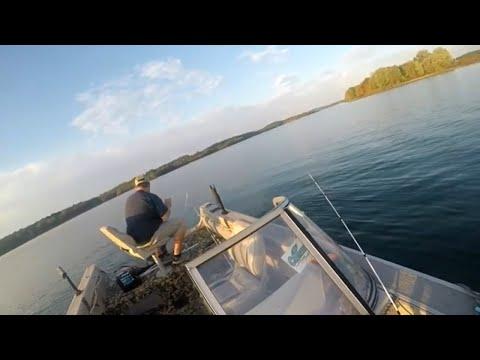DEEP Water Fishing For BIG Yellows And Whites (Lake Maburg, Hanover, P.a)